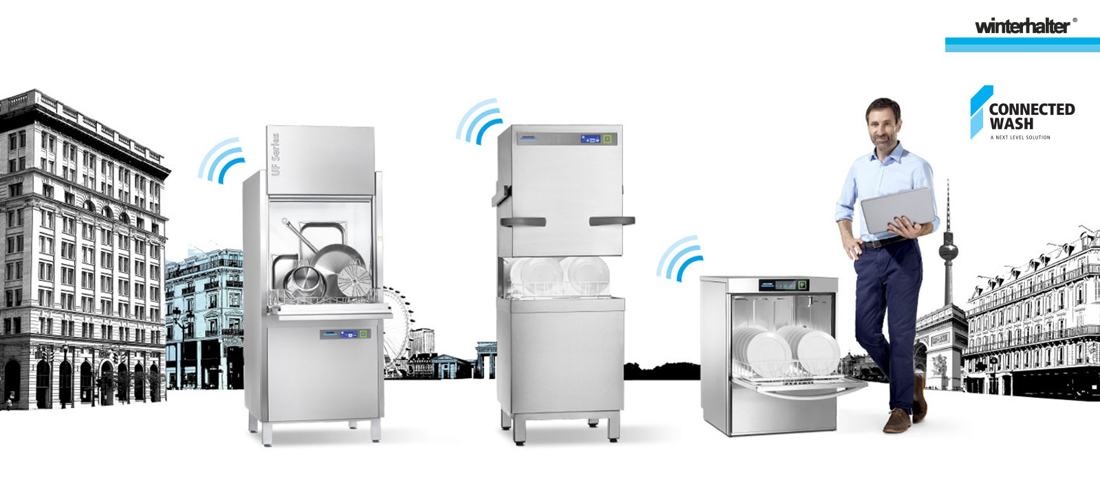 Winterhalter Connected Wash